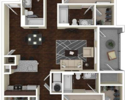 Fully Furnished Sublease Jan 2018-July (or May) 2018