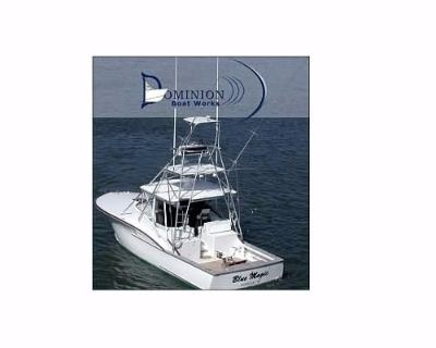 2001 36' Dominion Boat Works Sportfish