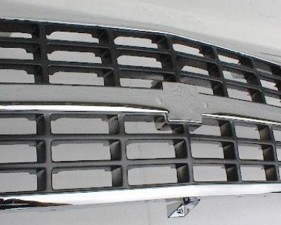 Chrome Grille 88 89 90 91 92 93 Chevy Pickup Chevrolet
