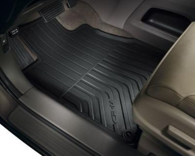 2012 Honda Cr-v New Factory Oem All Season Rubber Floor Mat Set Black Crv