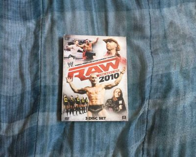 WWE RAW - The Best Of 2010 3-Disc Set DVD