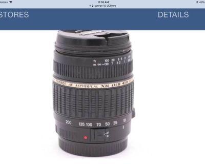Tamron 18-200 mm Camera Lens