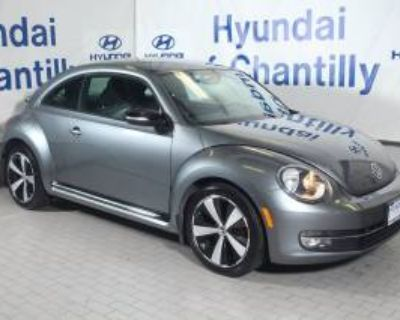 2012 Volkswagen Beetle Turbo Manual (PZEV)