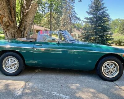 1979 MGB Roadster Previously Owned BY Actress Sharon Stone