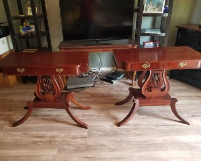 Matching antique tables