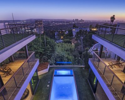 Hollywood Hills Estate Pool 360 Views 6+ Bd - Hollywood Hills West