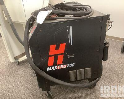 Hypertherm Maxpro 200 Plasma Cutter