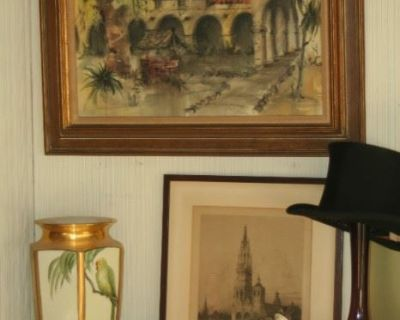 Vintage Everything- ART, JEWELRY, STOVE, CHINA, LAMPS and more....
