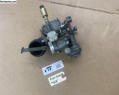 Solex 32 PHN-1 side draft carburetor