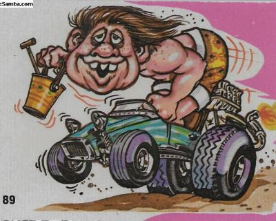1973 Donruss Odd Rods Series 1 #89 Dune Buggy