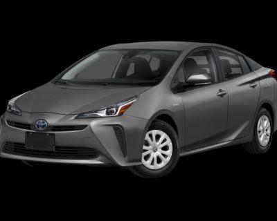 New 2022 Toyota Prius XLE 5 door Front Wheel Drive