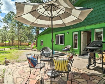 NEW! Peaceful Woodland Park Home w/ Patio & Grill! - Woodland Park