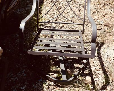 4 outdoor patio swivel and rocking chairs