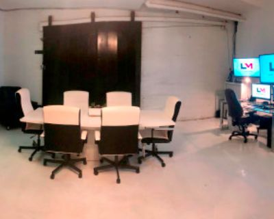 Downtown Studio with Creative Meeting Space, Atlanta, GA