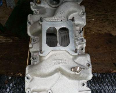 RARE Chevy Big Block 396 427 Aluminum Intake Manifold Winters 3933163
