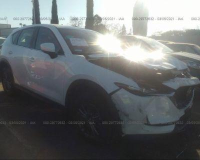 Salvage White 2020 Mazda Cx-5