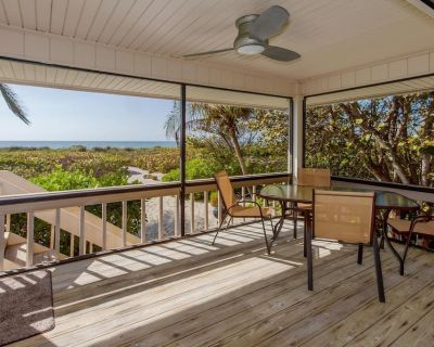 Beachfront Contemporary Cottage- Open & Airy-Gulf Views! OFFICIAL RESORT LISTING - Captiva