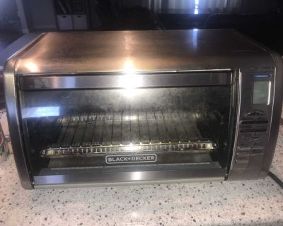 Black & Decker stainless steel countertop convection oven (fits a 12 pizza!)