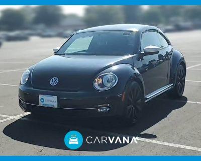 2012 Volkswagen Beetle Black Turbo Launch Ed.