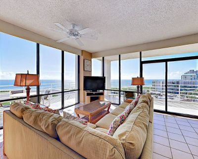 Resort Condo w/ Gulf Views, Pools, Tennis & Hot Tub - Private Beach Access - South Padre Island