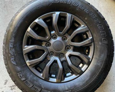 California - 2020 Ranger fx4 wheels and tires $600