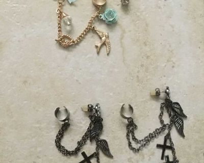 Earring and cuff