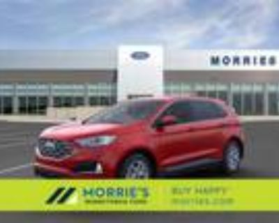 2021 Ford Edge Red