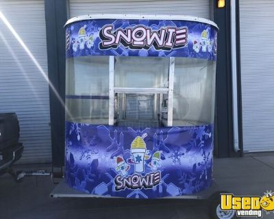 2005 5' x 8' Snowie Snowball Concession Trailer / Shaved Ice Kiosk