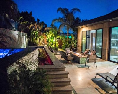 Iconic Hollywood Hills Influencer Mansion, Los Angeles, CA