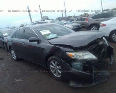 Salvage Gray 2011 Toyota Camry