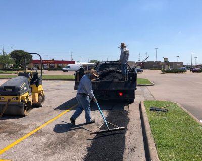 Asphalt Parking Lot Repair Houston