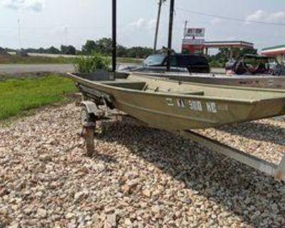 1989 Lowe 1436 Jon Boat