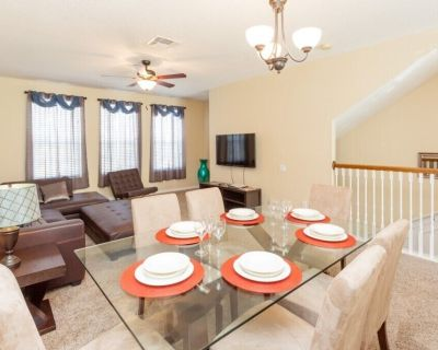 Enjoy Orlando With Us - Vista Cay Resort - Welcome To Relaxing 3 Beds 3.5 Baths Townhome - 7 Miles To Disney - Orlando