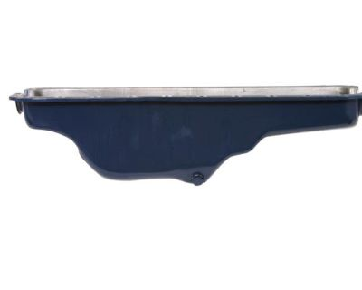 1965-1969 Ford Mustang 170/200 6 Cyl Engine Oil Pan Blue Steel
