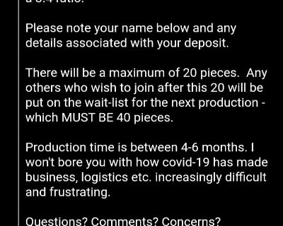 New Group Buy for a 3.4 final drive for K-series (2021)