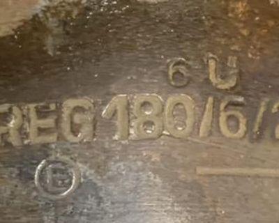 June 1963 6V generator LJ/REG 180/6/2500 L3