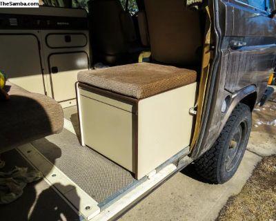 Original Westfalia Toilet Box