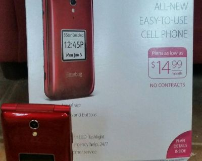 Jitterbug Cell Phone for Seniors-Easy to Use-Big Buttons