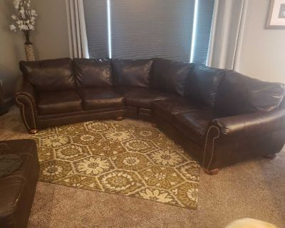 Terrific Sectional and Ottoman