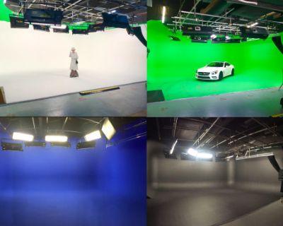 Full Service Turnkey Studio in LA -- Pre-Lit Sound Stage & Cyclorama Cyc, Burbank, CA