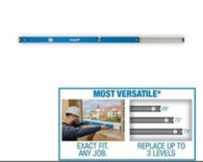 Empire 48 in. to 78 in. True Blue Extendable Box Level