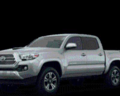 2017 Toyota Tacoma TRD Sport Double Cab 5' Bed V6 4WD Manual