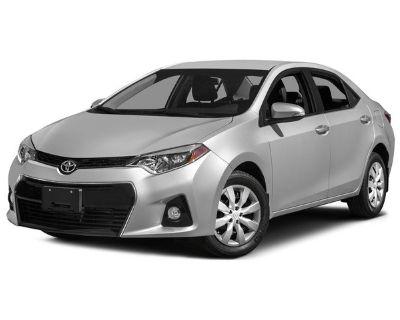 Pre-Owned 2015 Toyota Corolla LE Plus FWD 4D Sedan