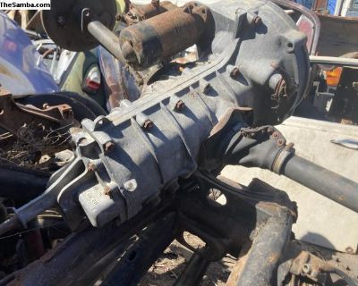 1955 transmission with axles