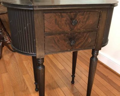 Side table bedside table