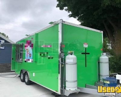 Lightly Used 2019 Worldwide 8' x 20' Food Trailer / Licensed Mobile Kitchen