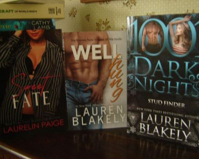 COME AWAY WITH ME & STAY WITH ME by Kristen Proby and other romance novels. softcovers. AS NEW.