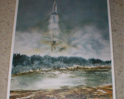 Columbia Shuttle Plaque - Final Flight 2003 - Signed & Numbered
