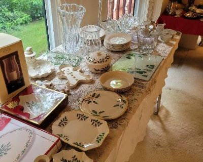 Lenox, kitchenware, holiday decor, glass tables - NORTHVILLE