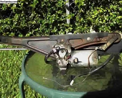 79 SB. vert. complete wiper motor